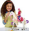 Barbie Кукла Всадница - Dream Horse (Барби- наездница и интерактивная танцующая лошадь FRV36), фото 7