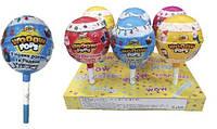 Мяч пластиковый WOOOW POPS NEW YEAR с игрушкой, фломастером и конфетами Hello Kitty 6 шт.