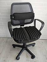 Ортопедические подушки для сидения на офисных и компьютерных креслах EKKOSEAT. Комплект.