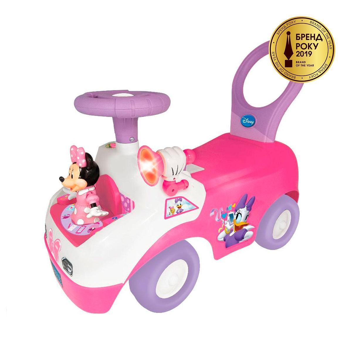 Машинка каталка Чудомобиль- Танцующая Минни Kiddieland Toys Limited Minnie Dancing Ride On 055541