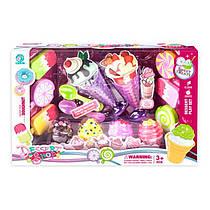 Игровой набор продукты мороженное, сладости, 6658