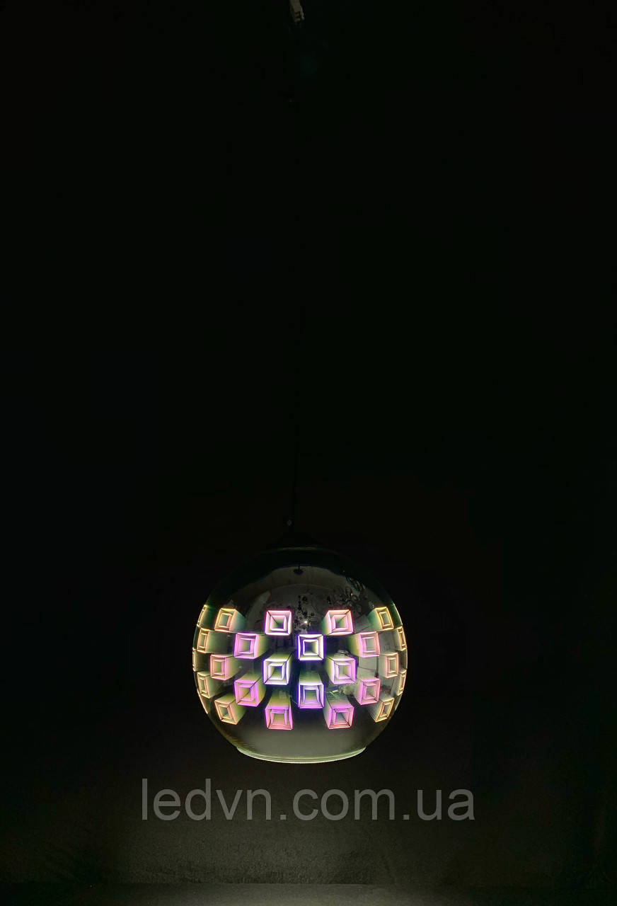 Подивись на одну лампочку 3D