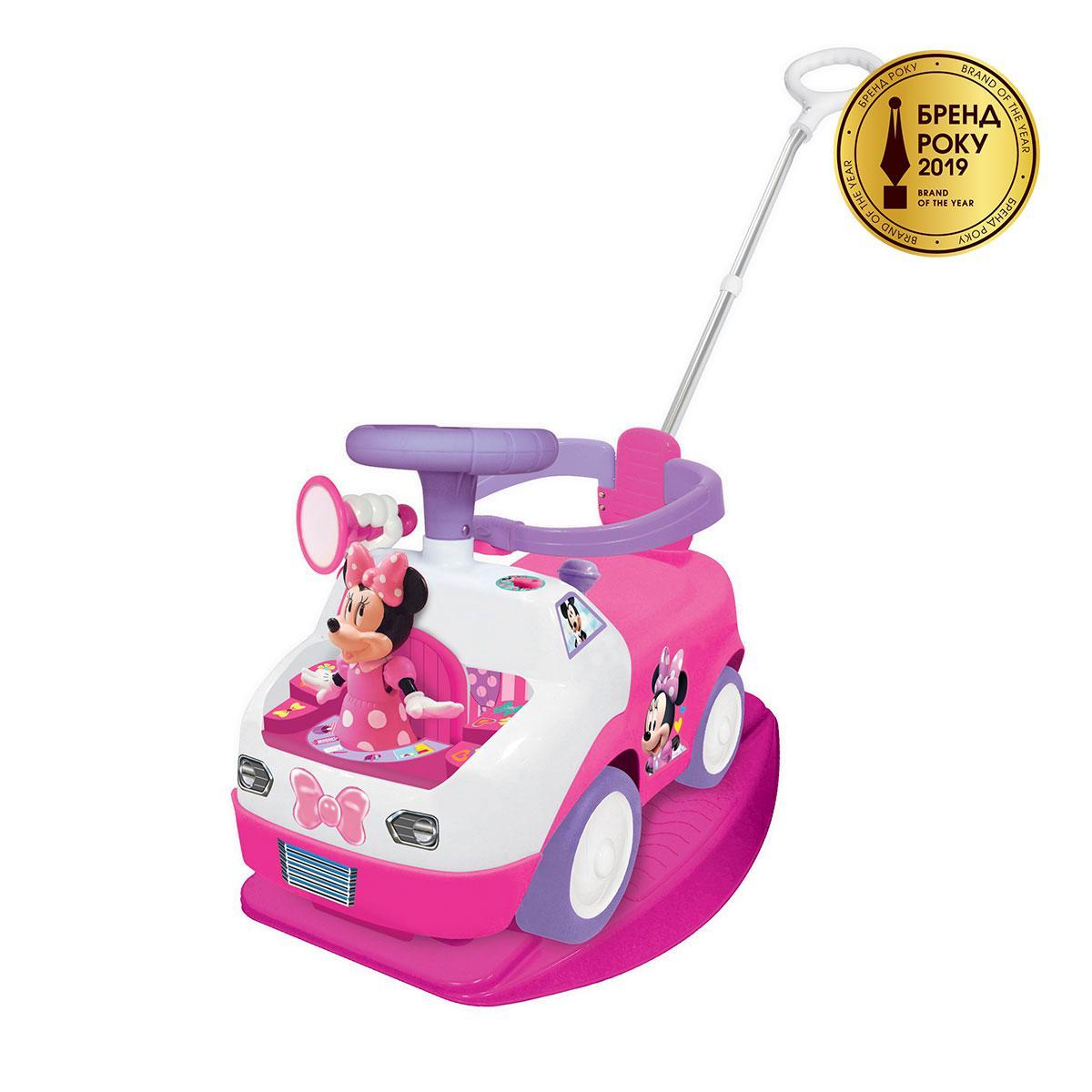 Машинка каталка Чудомобиль- Танцующая Минни: Три В Одном Kiddieland Minnie Dancing Ride On 055749