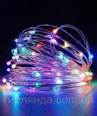 """""""РОСА"""" 100 LED  220В, 10м, мульті"""