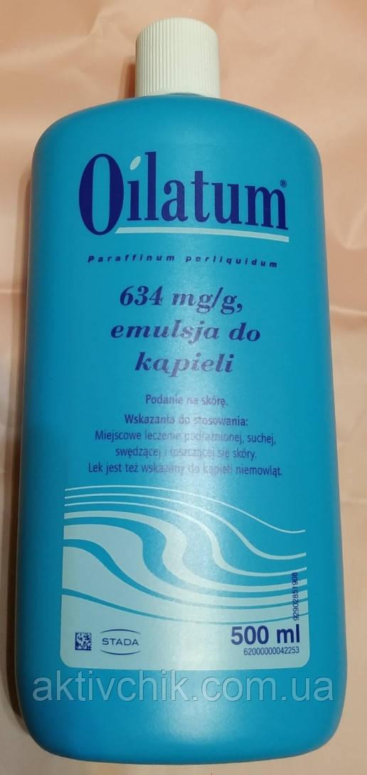 Средство для купания Ойлатум Oilatum Дерматологическая эмульсия  500 мл