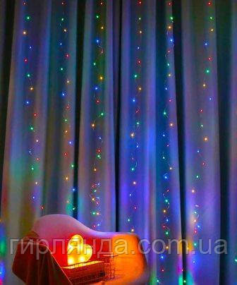 ВОДОСПАД-РОСА 360л (12 ліній)  3м*2м, мульті