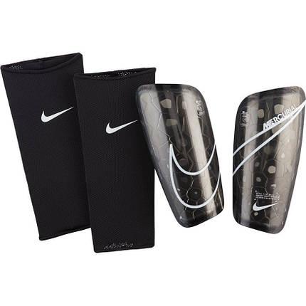Щитки футбольные Nike Mercurial Lite SP2120-013 Черный Размер XL, фото 2