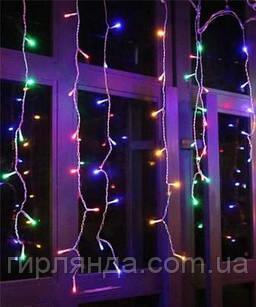 Штора 120 LED   1.5м*1.2м, мульті