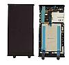 Дисплей (екран) для Sony G3311 Xperia L1/G3312/G3313 + тачскрін, чорний, з передньою панеллю, оригінал