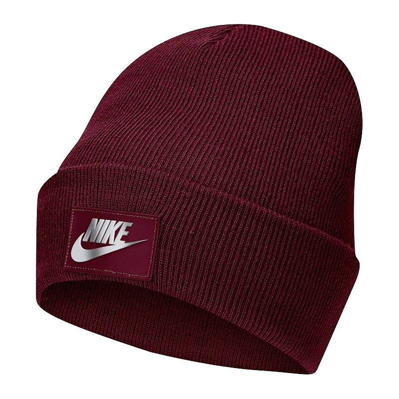 Шапка Nike NSW Cuffed Futura Beanie DA2021-638 Бордовий
