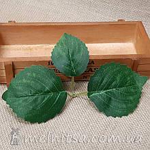 Лист березы тройной 20х12 см