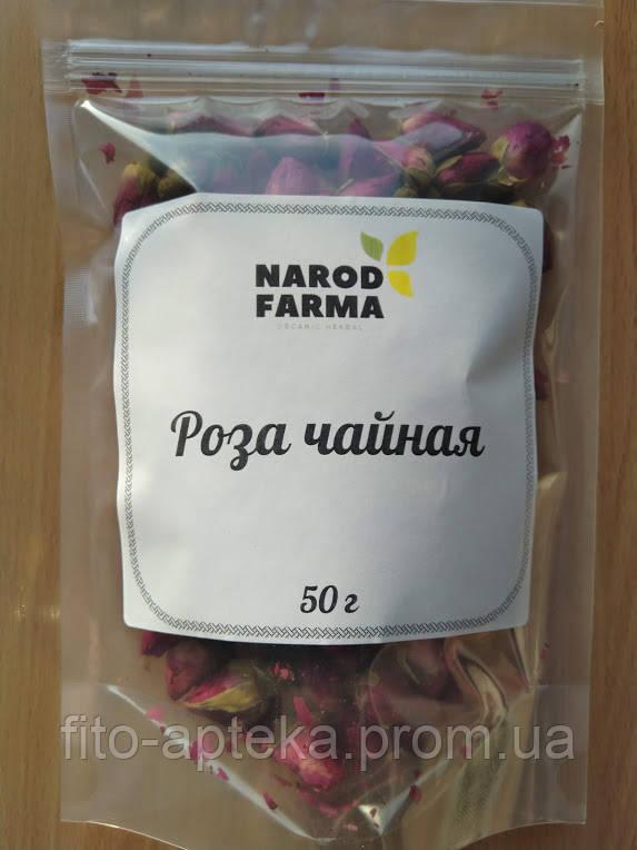 Роза чайная крымская (лепестки) 50г