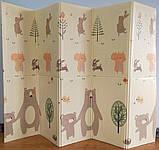"""Детский мягкий двухсторонний термоковрик  180*200*1см, """"Мишки в лесу"""", фото 7"""