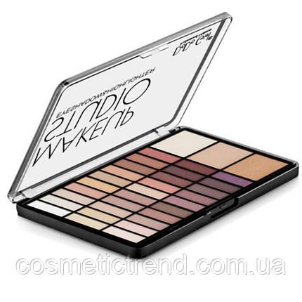 Палетка тіней і хайлайтеров DoDo Girl Make Up Studio Eyeshadow & Highlighter D4071B, фото 2