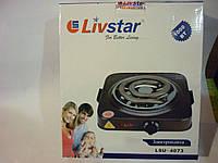 Электроплита LIVSTAR LSU4073, спиральный тэн, плавный регулятор нагрева, поддон из нержавейки
