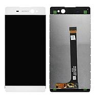 Дисплей (экран) для Sony F3211 Xperia XA Ultra/F3212/F3213/F3215/F3216 + тачскрин, белый