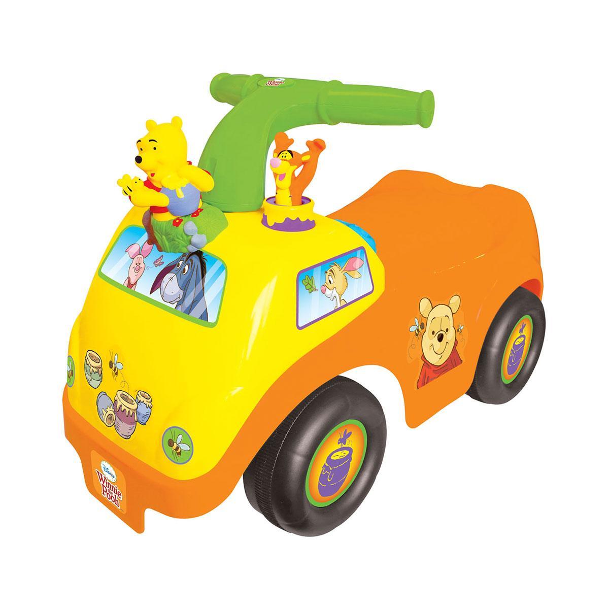 Машинка каталка Чудомобиль-мини - Винни-Пух Kiddieland Winnie-the-Pooh Activity Ride On 050435