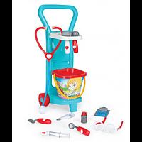Детский игровой набор Маленький доктор с тележкой серии Party World 10775 Wader