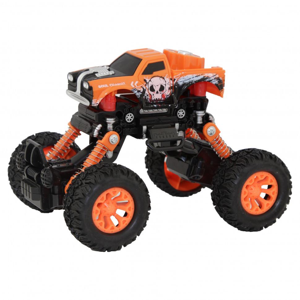 Игрушечная машинка Джип KLX500-430 Оранжевый