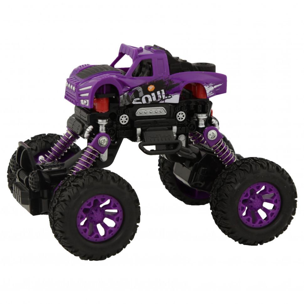 Игрушечная машинка Джип KLX500-430 Фиолетовый