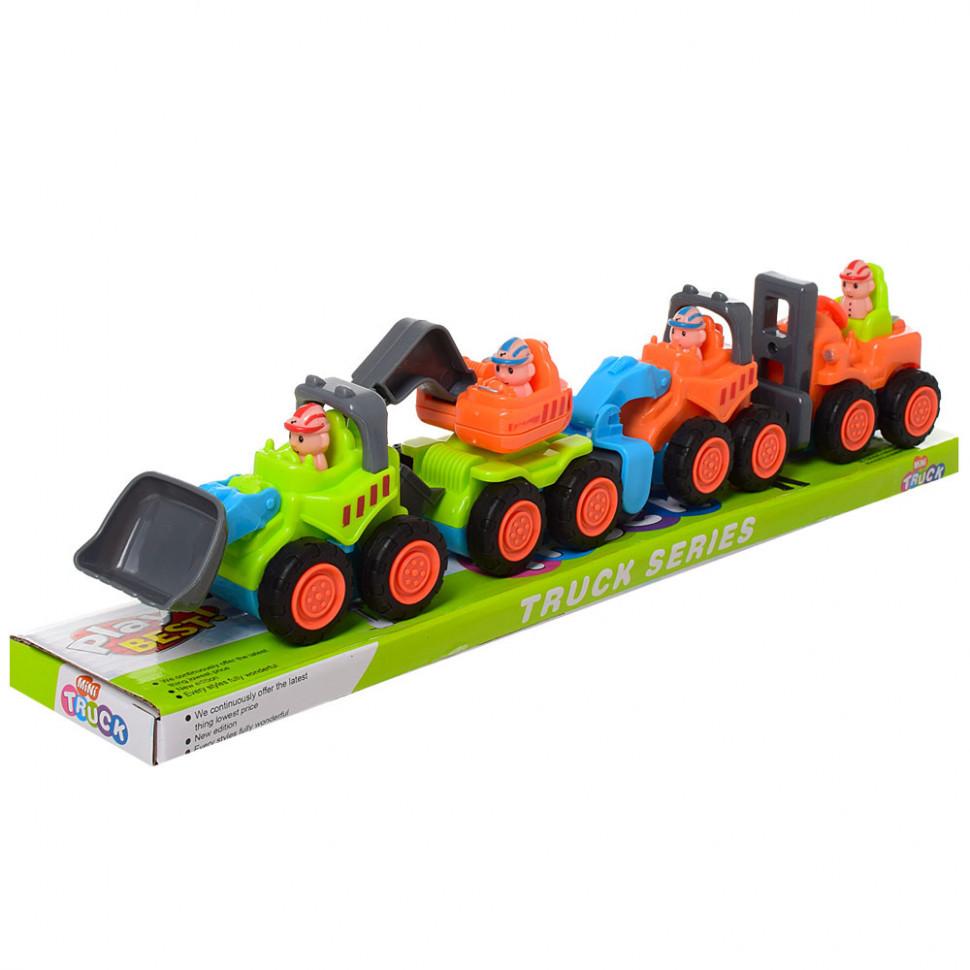 Набор игрушечных машинок Спецтехника 3689-1