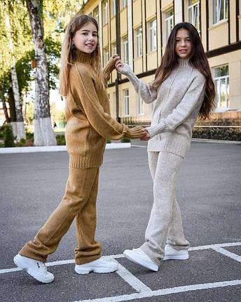 Модны тёплый костюм для девочек из кашемира с 30 по 44 размер, фото 2