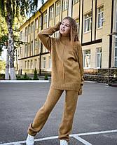 Модны тёплый костюм для девочек из кашемира с 30 по 44 размер, фото 3