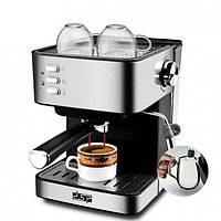 Кофеварка эспрессо рожковая DSP Espresso Coffee Maker KA3028 кофемашина полуавтоматическая (KA3028)