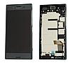 Дисплей (экран) для Sony G8141 Xperia XZ Premium/G8142 + тачскрин, черный, Deepsea Black, с передней панелью