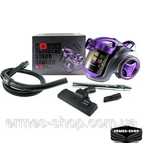 Пылесос вакуумный с колбой Haeger HG-8662 | 2400Вт | Фиолетовый