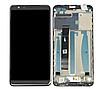 Дисплей (екран) для Asus ZenFone Max Plus (M1) ZB570TL + тачскрін, чорний, з передньою панеллю, оригінал