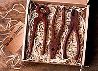 Шоколад для мужчин Ковальня шоколаду Гвоздодер, плоскогубцы, кусачки 80% 104 г (000143К)