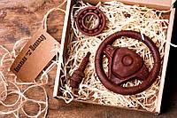 Шоколад для мужчин Ковальня шоколаду Руль, свеча автомобильная, подшипник 80% 90 г (000137К)