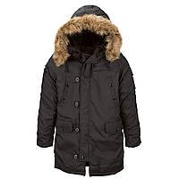 Зимова куртка аляска Alpha Industries Altitude Parka MJA43917C1 (Black)