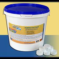 Химия для бассейнов Crystal Pool MultiTab 4-in-1 Large, 1 кг