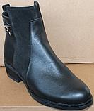 Ботинки женские демисезонные большого размера на каблуке от производителя модель БР555-1, фото 2