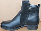 Ботинки женские демисезонные большого размера на каблуке от производителя модель БР555-1, фото 3