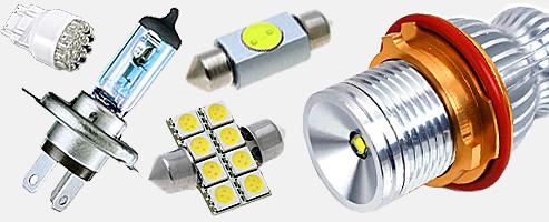 Автомобільні лампочки світодіодні