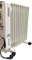 Масляный обогреватель Crownberg СВ-9-S 2000W радиатор 9 секций 25м2