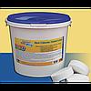 Медленнорастворимые таблетки хлора Crystal Pool Slow Chlorine Tablets Large, 1 кг