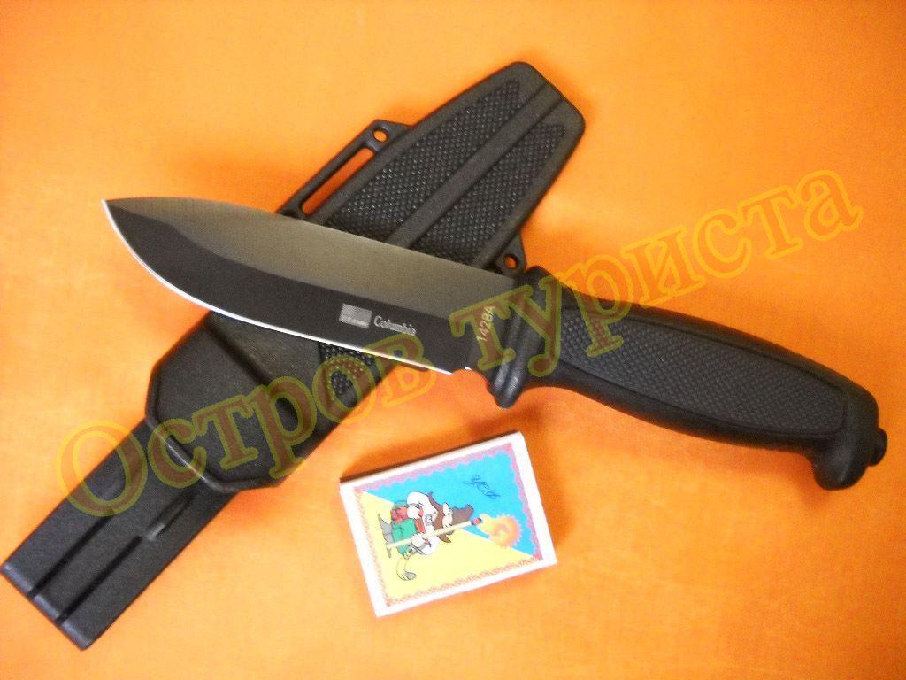 Нож Columbia с кобурой,битой 1428A дайвинг туристический