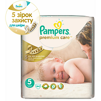 Подгузники PAMPERS Premium Care Junior 5 (11-18) кг) 44шт