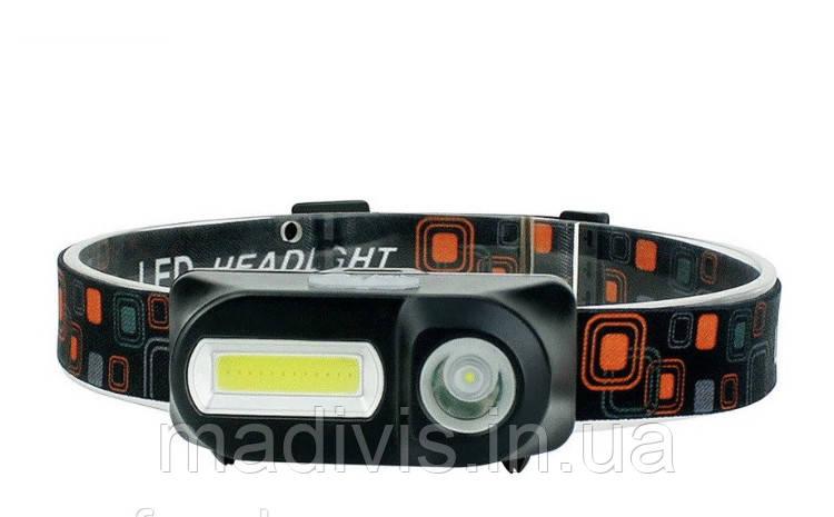 Налобный светодиодный фонарь KX-1804