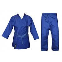 Кимоно дзюдо синее Matsa MA-0015