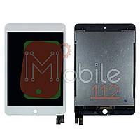Экран (дисплей) Apple iPad Mini 5 A2133 A2124 A2126 A2125 + тачскрин белый оригинал Китай