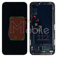 Экран (дисплей) Apple iPhone X A1901 + тачскрин черный OLED JK SOFT