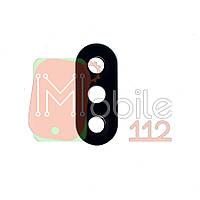 Стекло камеры Xiaomi Redmi Note 6 Pro черное