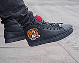 Мужские зимние ботинки Gucci, мужские кроссовки гуччи, чоловічі зимові черевики Gucci, чоловічі кросівки гуччі, фото 2