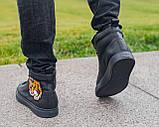 Мужские зимние ботинки Gucci, мужские кроссовки гуччи, чоловічі зимові черевики Gucci, чоловічі кросівки гуччі, фото 5
