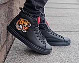 Мужские зимние ботинки Gucci, мужские кроссовки гуччи, чоловічі зимові черевики Gucci, чоловічі кросівки гуччі, фото 6